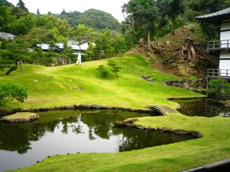 Un jardin zen de Kamakura.