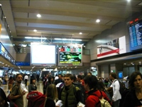 arrivé à Toky Narita