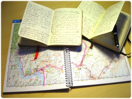 Notes prises en cours de route.