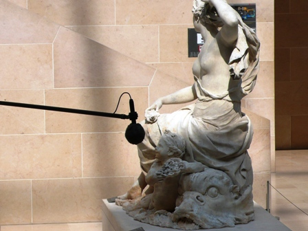 Interview, Musée du Louvre, 14 avril 2007.